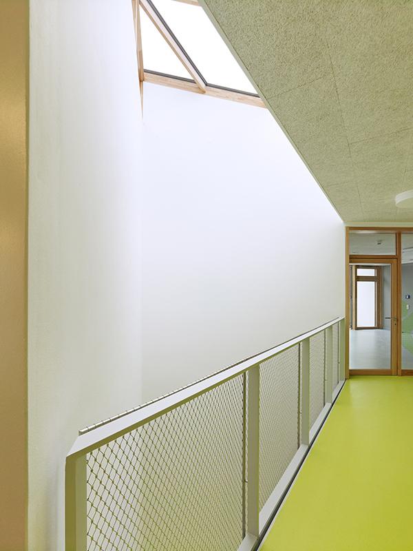 Vista malla barandilla rombo pequeño,Kindertagesstätte Atterberry, Frankfurt/Guarderia en Kleingemünd