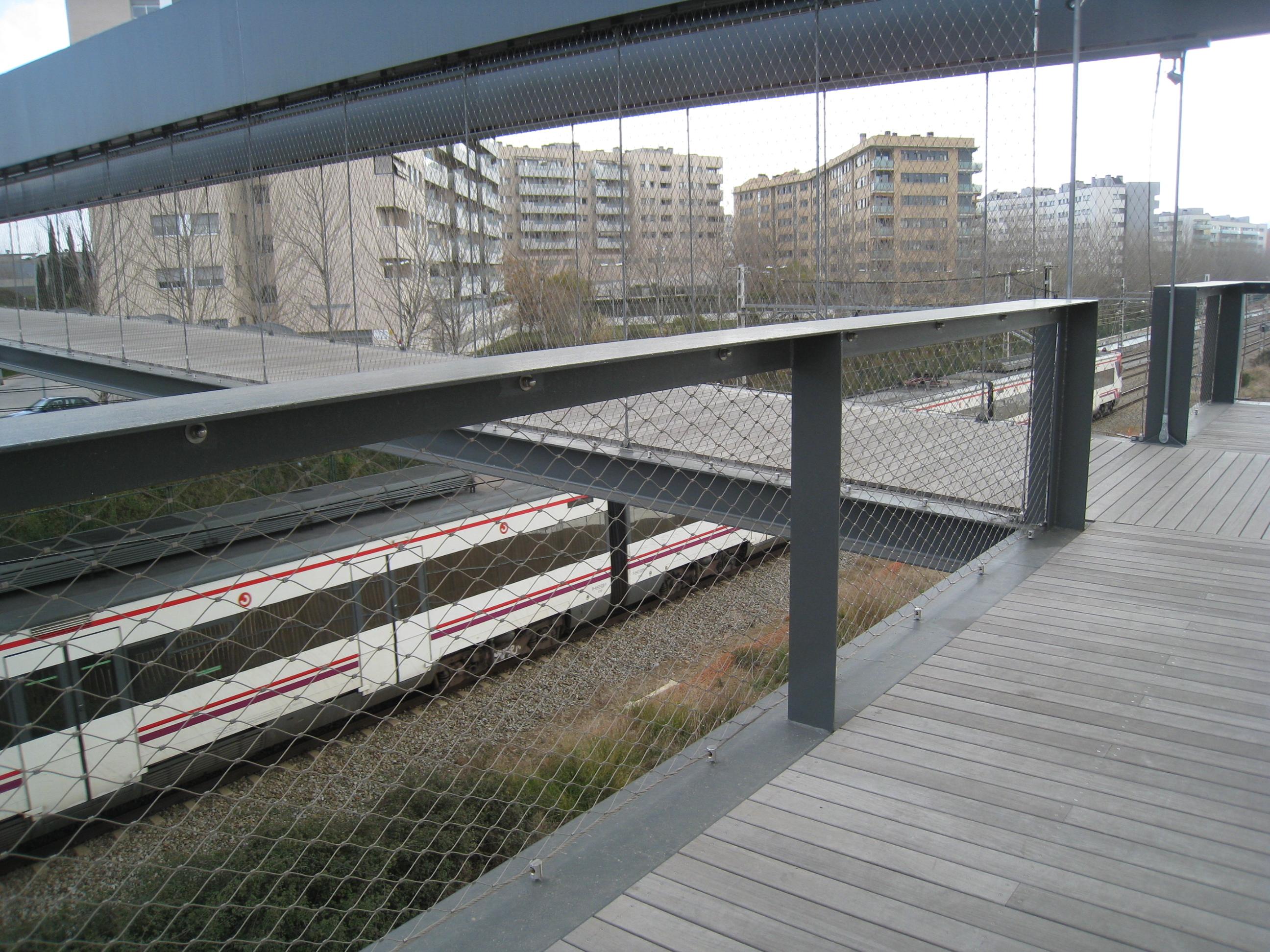 urbanización riu sec-vista tren