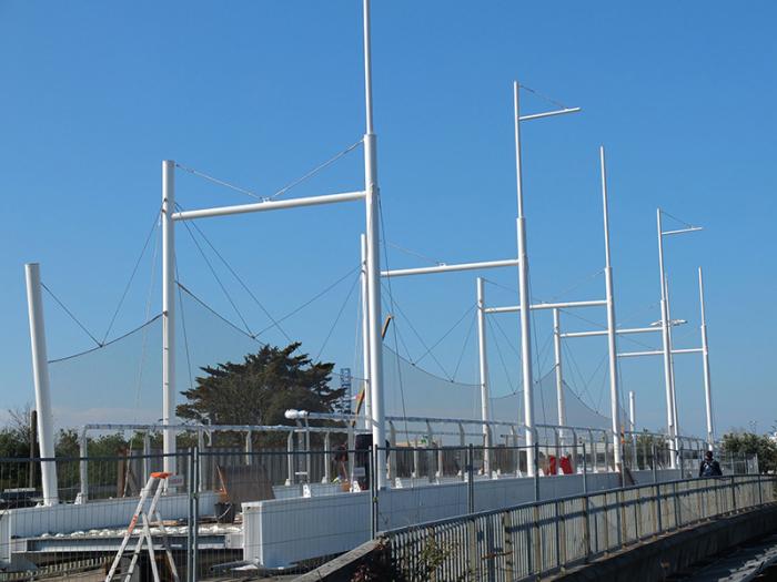 Pont de Charentes-malla metálica X-TEND