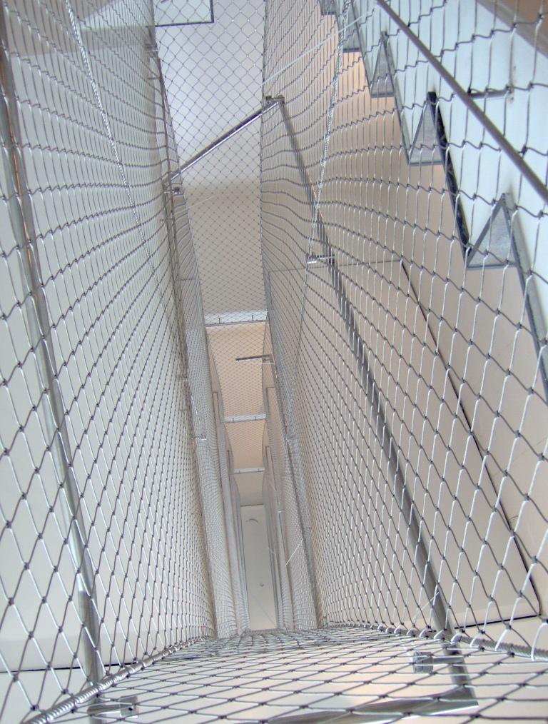 Huecos de escalera. X-TEND. Vista desde arriba.
