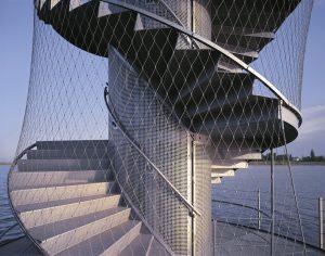 Malla de cables acero inoxidable X-TEND mirador alemania