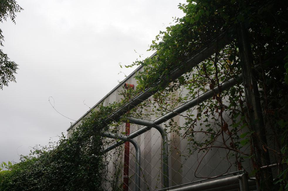 Malla metalica de acero inox para muros vegetales