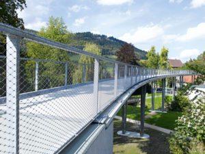 Puente relleno de malla de cables Lautlingen