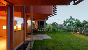 Muro vegetal vivienda unifamiliar