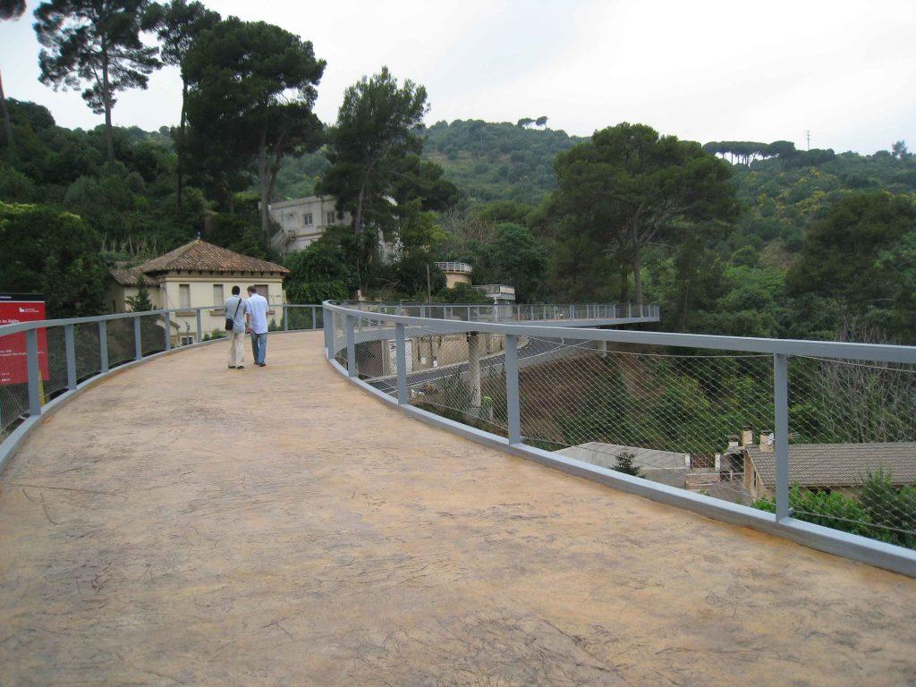Pasarela Vallvidrea
