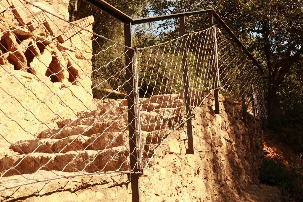 Parque Güell escalera